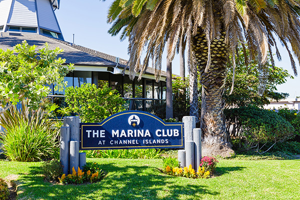 the marina club at Channel Islands