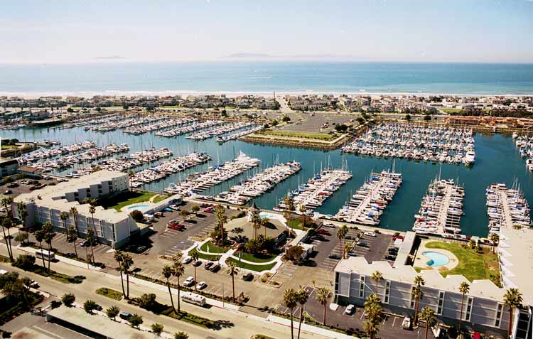 Channel Islands Waterfront Homes aerial photo